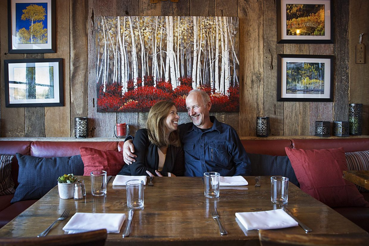 Family can't help making restaurant a personal affair